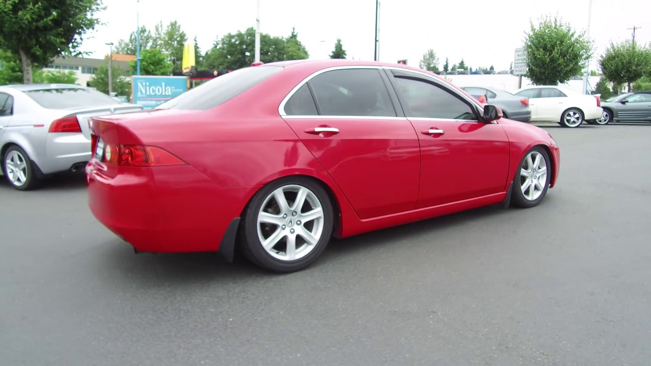 2004 acura tsx tail pipe manual