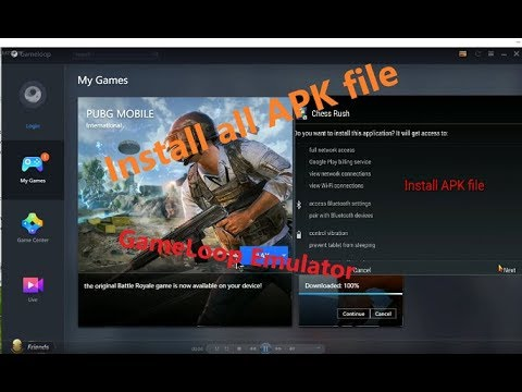 GameLoop: How to download and Install APK file EZ (Tencent Gaming Buddy)  #Smartphone #Android