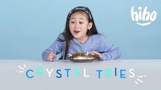 Crystal Tries | Kids Try | HiHo Kids