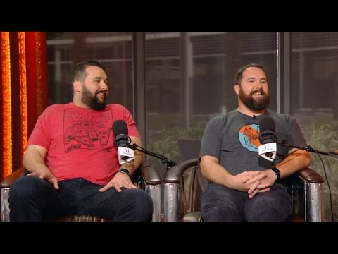 Matt Kalil & Ryan Kalil of The Carolina Panthers Joins The RE Show in Studio - 3/22/17