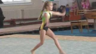 Спортивная  гимнастика (дети) часть 2.