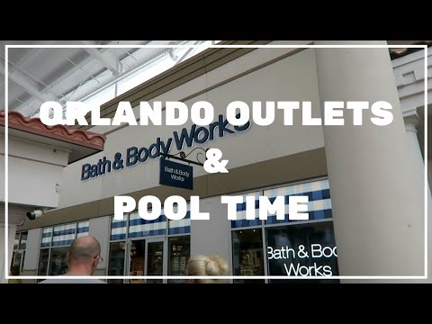 Shopping At The Outlets & Cabana Bay Pool Time