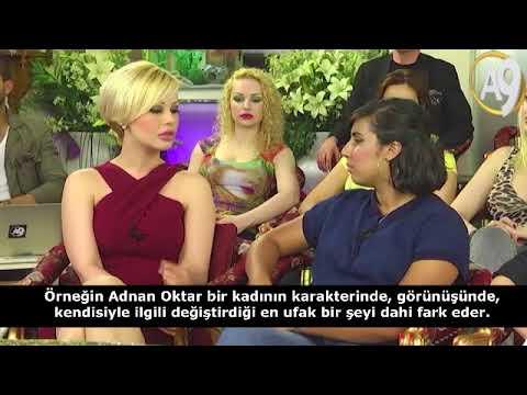 Ceylan Özgül dünyaca ünlü TV Show'unda Adnan Oktar'ı yere göğe sığdıramıyor