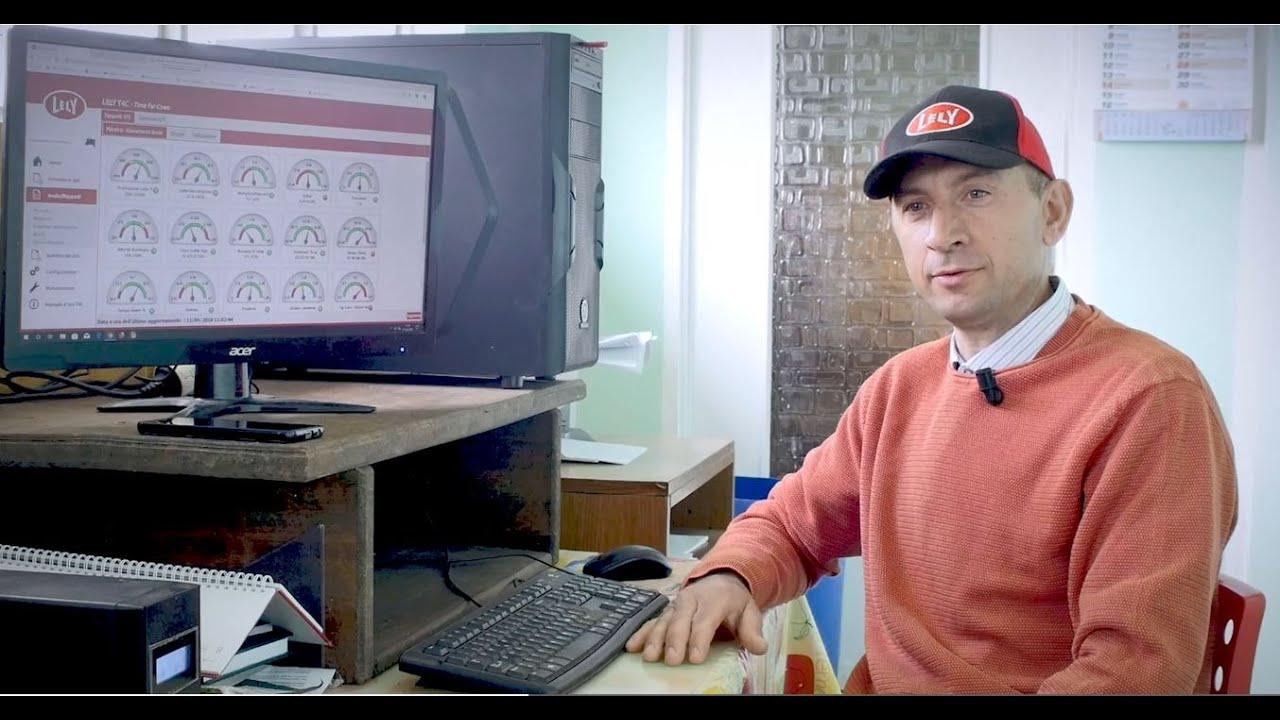 Lely Astronaut: monitorare lo stato di salute della madria in tempo reale con T4C - testimonianze