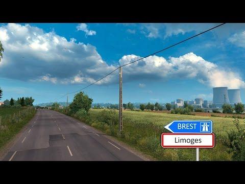 Euro Truck Simulator 2 - Limoges to Brest (Vive la France ! DLC) |