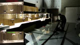 The Filming of Isaac Newton vs Rube Goldberg