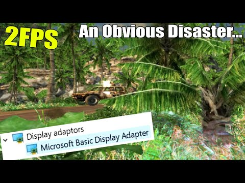 """Gaming With Microsoft's """"Basic Display Adapter""""?"""