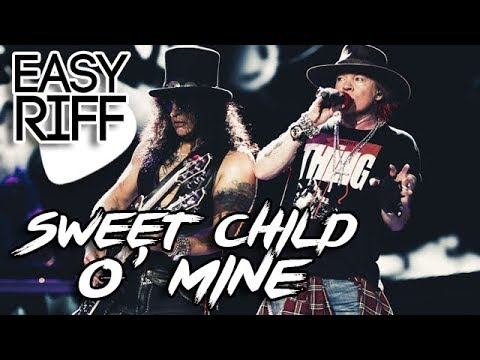 sweet child o 39 mine guns n 39 roses guitar lesson riff how to play youtube. Black Bedroom Furniture Sets. Home Design Ideas