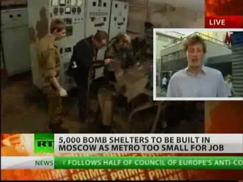5-thousand new emergency bomb-shelters will be created in Moscow