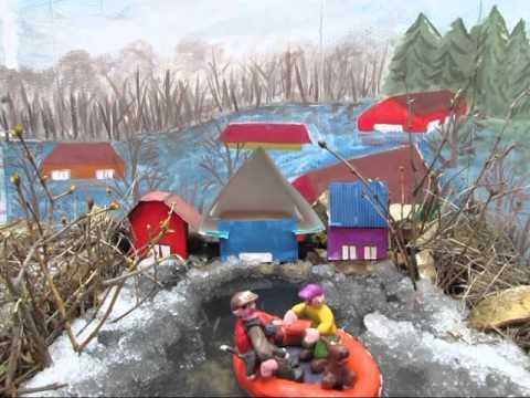 Орловские дети сняли мультик для сотрудников МЧС