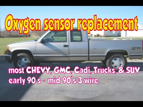 How to change Oxygen (O2) sensor. Can improve gas mileage ...