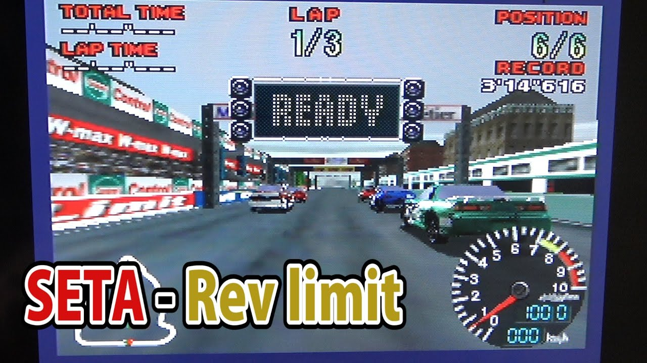 Rev Limit: An unreleased N64 game - N64 Squid