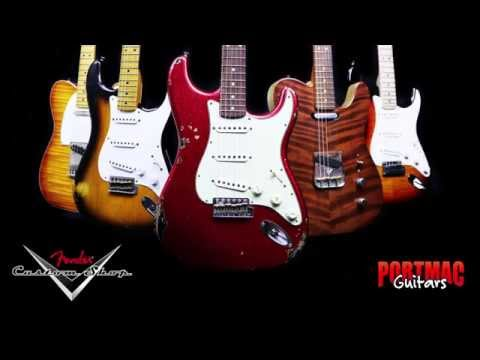 Fender Custom Shop at Port Mac Guitars