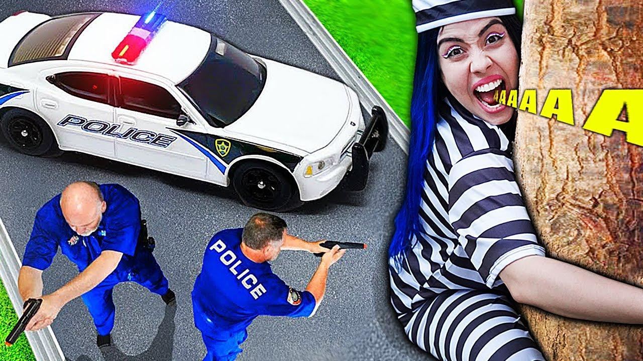 DUDU e CAROL SÃO DA POLICIA!