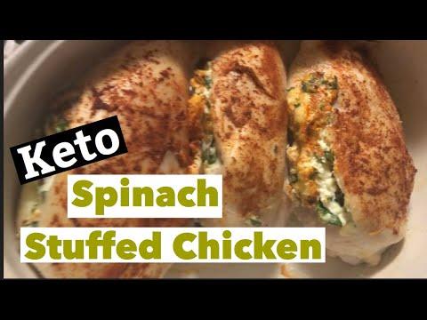 Stuffed Spinach Chicken Breast