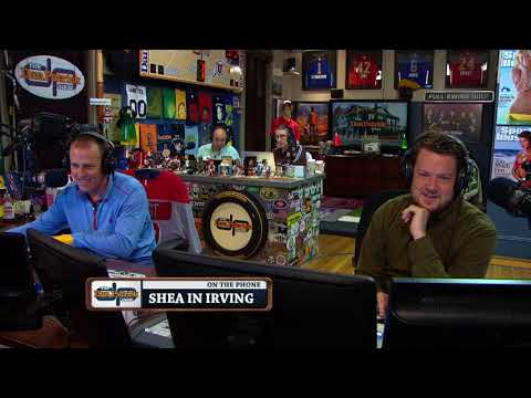 Shea in Irving Reacts (Angrily) to This Week's Losses | The Dan Patrick Show | 10/9/17
