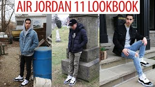 jordan 11 outfit