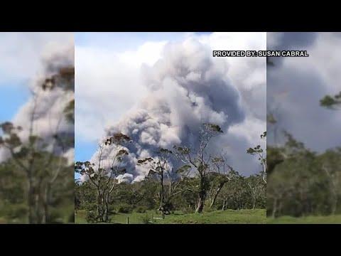Halemaumau Plume May 15 Susan Cabral