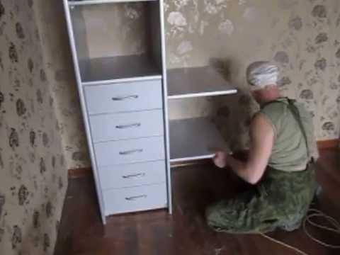 видео: шкаф купе 2360 клинья натяжной  №2