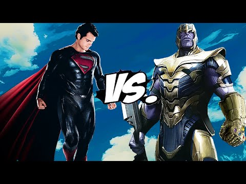 SUPERMAN VS THANOS - EPIC BATTLE