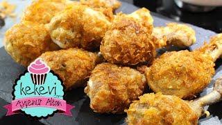 Çıtır Paneli Tavuk Baget / Dışarda yemek istemeyeceksiniz! 👍 Ayşenur Altan Yemek Tarifleri