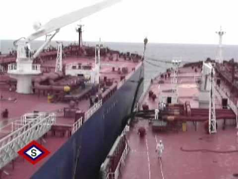 Lightering of Oil Tankers Offshore US Coast.wmv