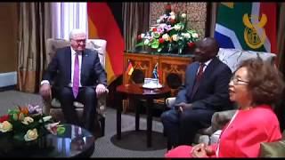 President Cyril Ramaphosa hosts President Frank-Walter Steinmeier of Germany