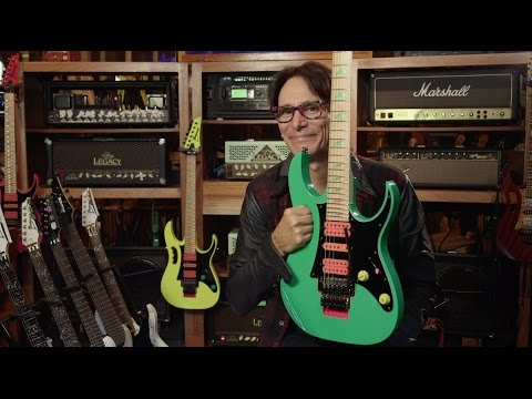 Steve Vai  30 years of the Ibanez JEM