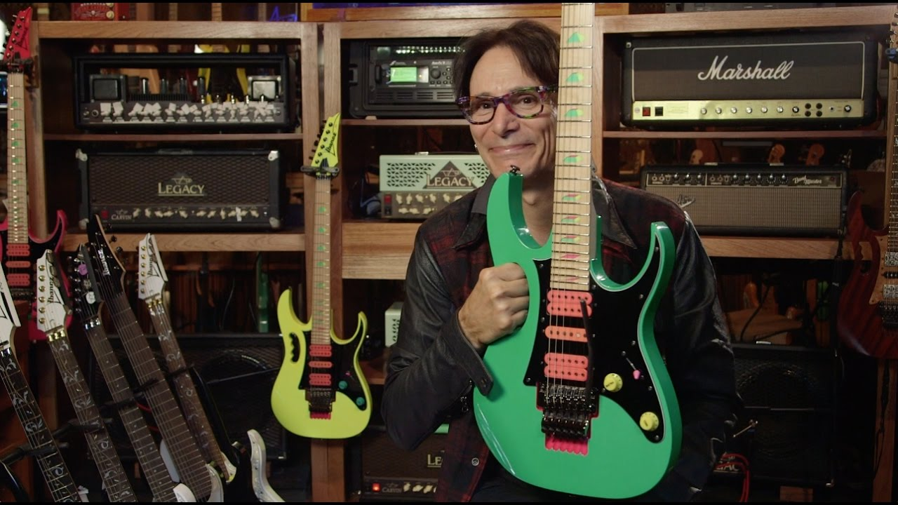 Steve Vai Quot 30 Years Of The Ibanez Jem Quot Youtube