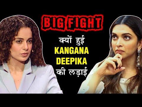 Kangana Ranaut Deepika Padukone BIG FIGHT   Story  Bollywood&39;s Most Controversial