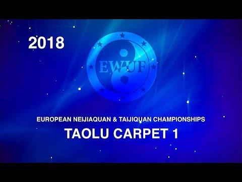 EWUF WUSHU TV: 3rd EUROPEAN TAIJIQUAN AND NEIJIAQUAN CHAMPIONSHIPS Area 1 Taolu, 12.05.18