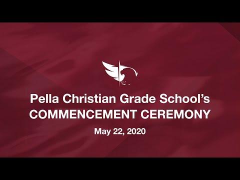 Pella Christian Grade School 8th Grade Commencement Ceremony