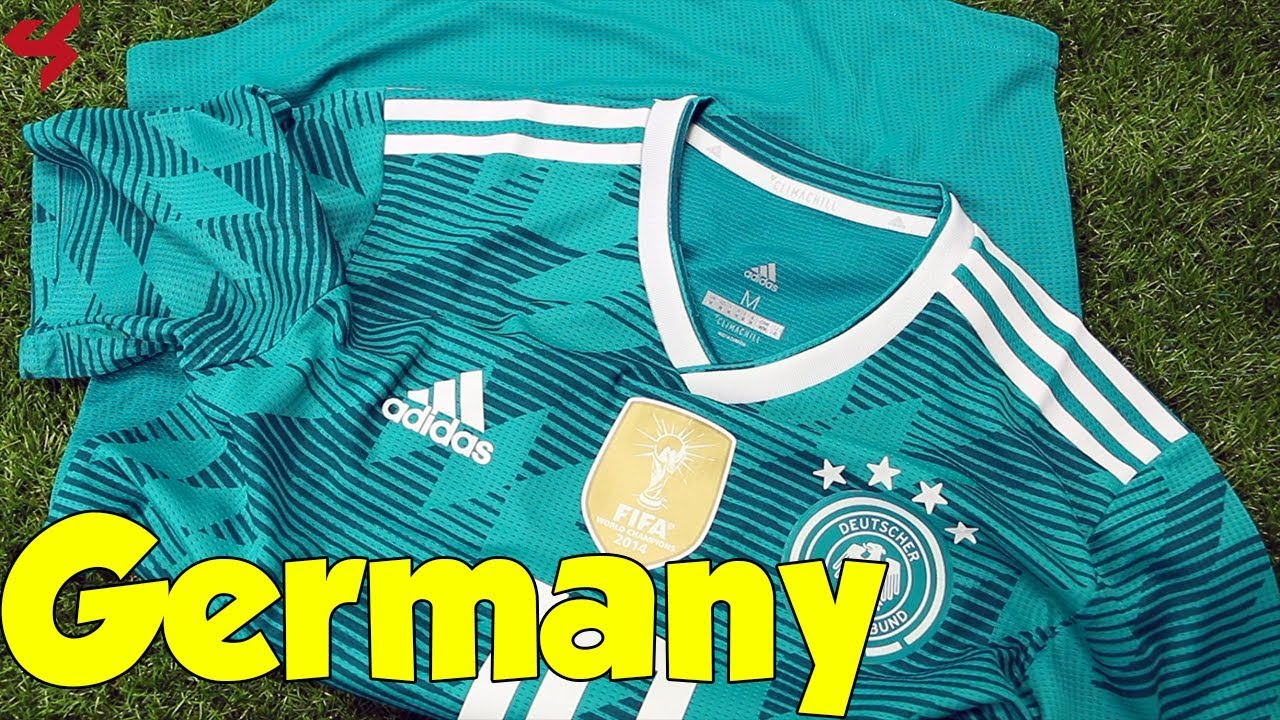 brand new e35e5 76ec0 World Cup 2018 Adidas Away Germany Özil Jersey Unboxing + Review from  Subside Sports