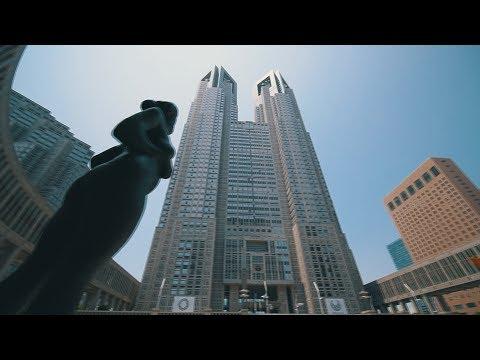 Walking around Tokyo Government Office area + メロン熊 / Nebula4200 / Same day edit