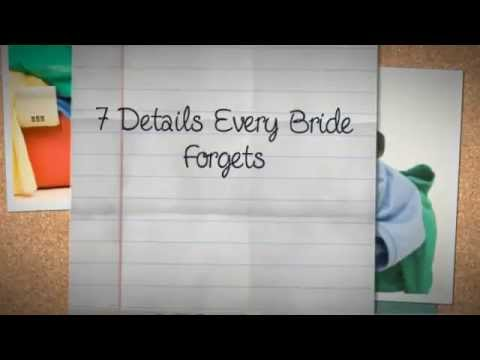 http://wedding-decoration-ideas.donnareviews.com ~ Wedding Decoration Ideas 10 Details Every Bride Forgets Think you