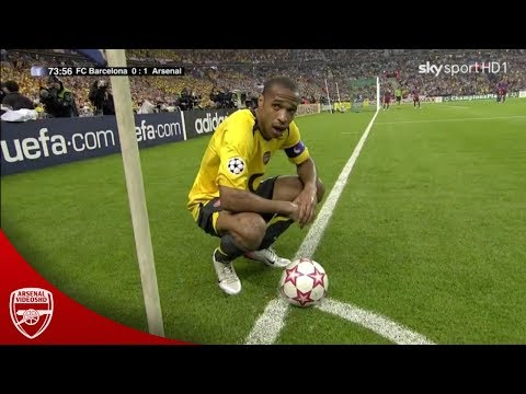 Thierry Henry vs Barcelona (Champions League Final, 2006)