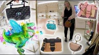 Luxury Shopping Vlog At Valentino, Prada & Chloe + Try On 🔥🔥🔥