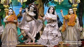 Sri Sri Radha Gopinath Temple Mangal Arati Darshan 24th May 2018 Live from ISKCON Chowpatty,Mumbai