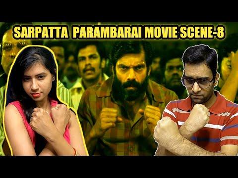 Sarpatta Parambarai Tamil Movie Scenes Reaction   Tamil New HD Movie   Cine Entertainment