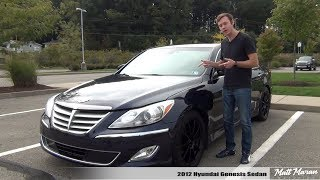 Review: 2012 Hyundai Genesis 4.6L V8 Sedan