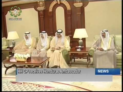 His Highness the Crown Prince receives new Ambassadors to Kuwait