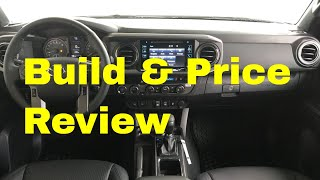 2019 Toyota Tacoma TRD Sport 4X4 Pickup - Build & Price Review: Colors, Interior, Full Specs