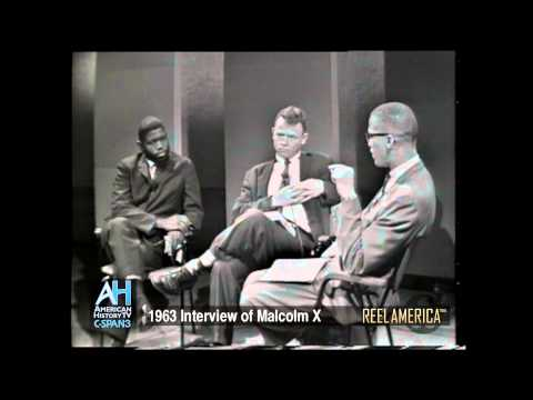 Reel America Preview: Interview of Malcolm X - Oct. 11, 1963