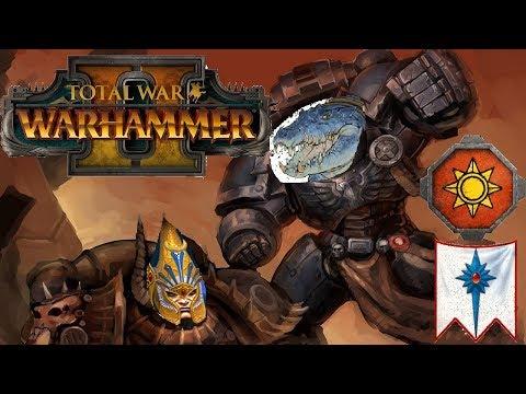 Lizardmen vs High Elves | POWER FIST KROXIGOR - Total War Warhammer 2