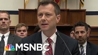 Watergate Prosecutor Likens Peter Strzok Grilling To McCarthy Hearings | The 11th Hour | MSNBC