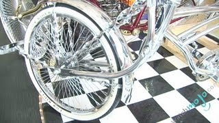 Customized Lowrider Bikes