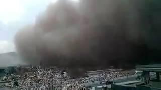 طوفان شهر پلخمری روز پنجشنبه 1395/9 /13