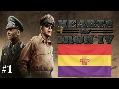Hearts of Iron 4: Republican Spain #1