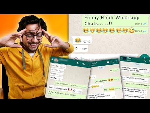 Funny Hindi Whatsapp Chats With Girl Friend, Mom & Friend | #Hindi #India | Vishal Khatri