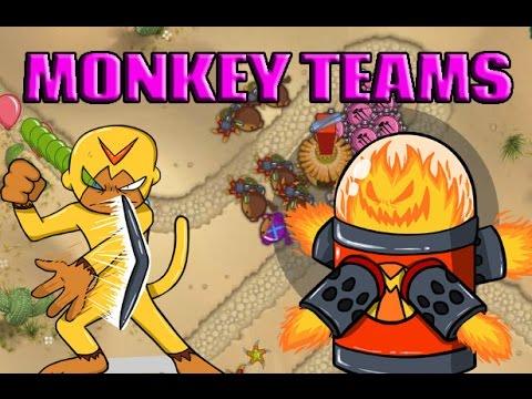 Bloons Monkey City - Mega Monkey Teams